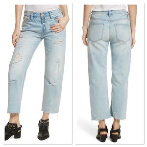 Free People Rolling on the River Straight Leg Jean